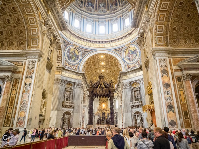 st. peter basilica places to visit in rome