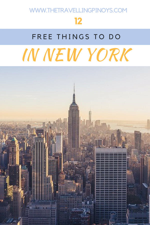 12 Free Things To Do In New York City | New York on a budget | New York Budget Travel | New York Travel Tips.jpg