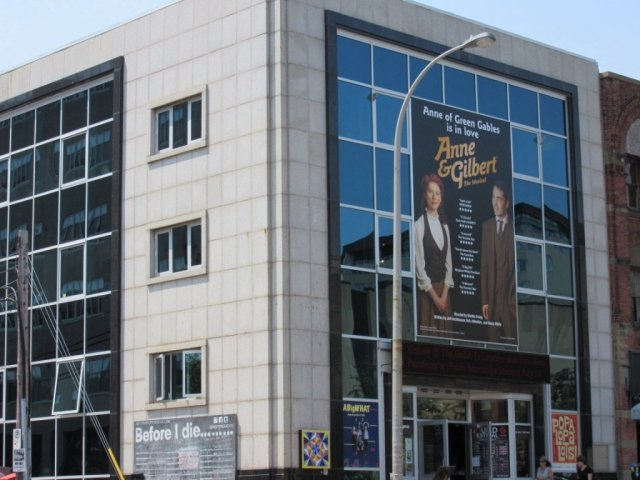 Theatre advertisement for the Anne & Gilbert show, in Charlottetown, PEI. Photo credit: © thetravellingsociologist