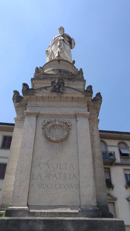 Alessandro Volta, Volta, electricity, inventor of the electric battery, Como, City of Como, Province of Como, Lombardy, Italy