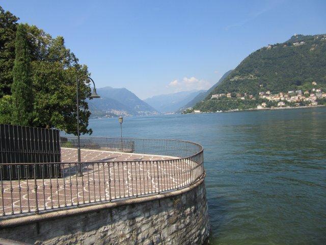 Lake, Lake of Como, City of Como, Province of Como, Como, Lombardy, Italy