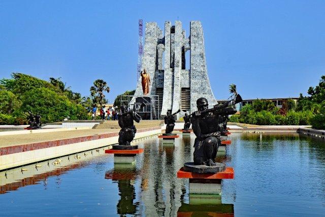 Top ten things to do in Accra, Ghana - visit the Kwame Nkrumah memorial park