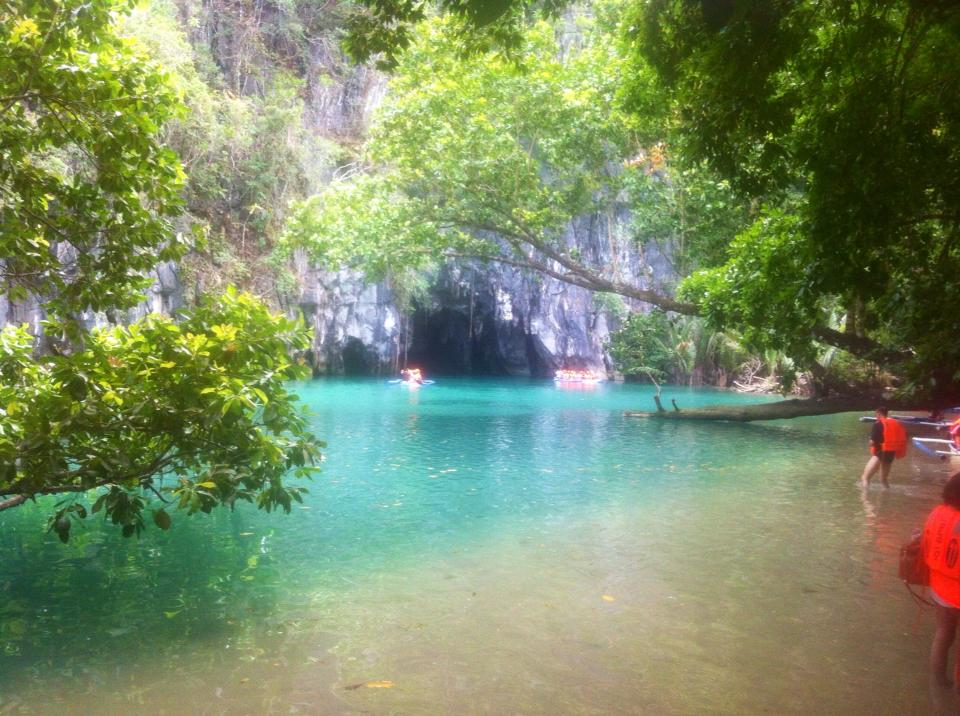 Subterranean River in Palawan, Philippines
