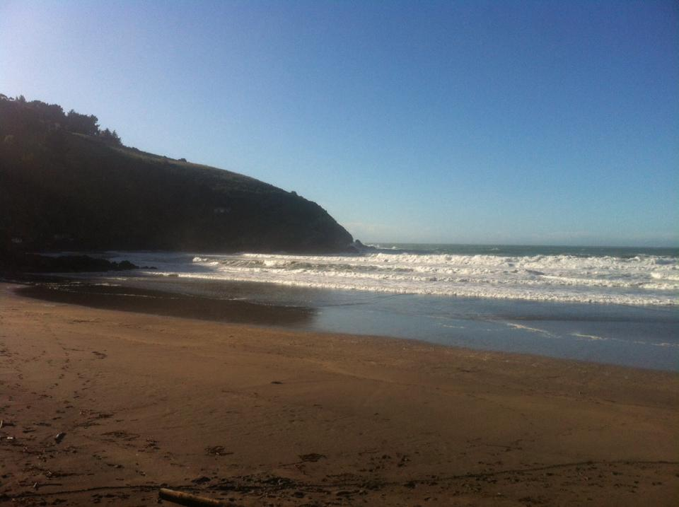 Taylor's Mistake one of the best beaches in New Zealand