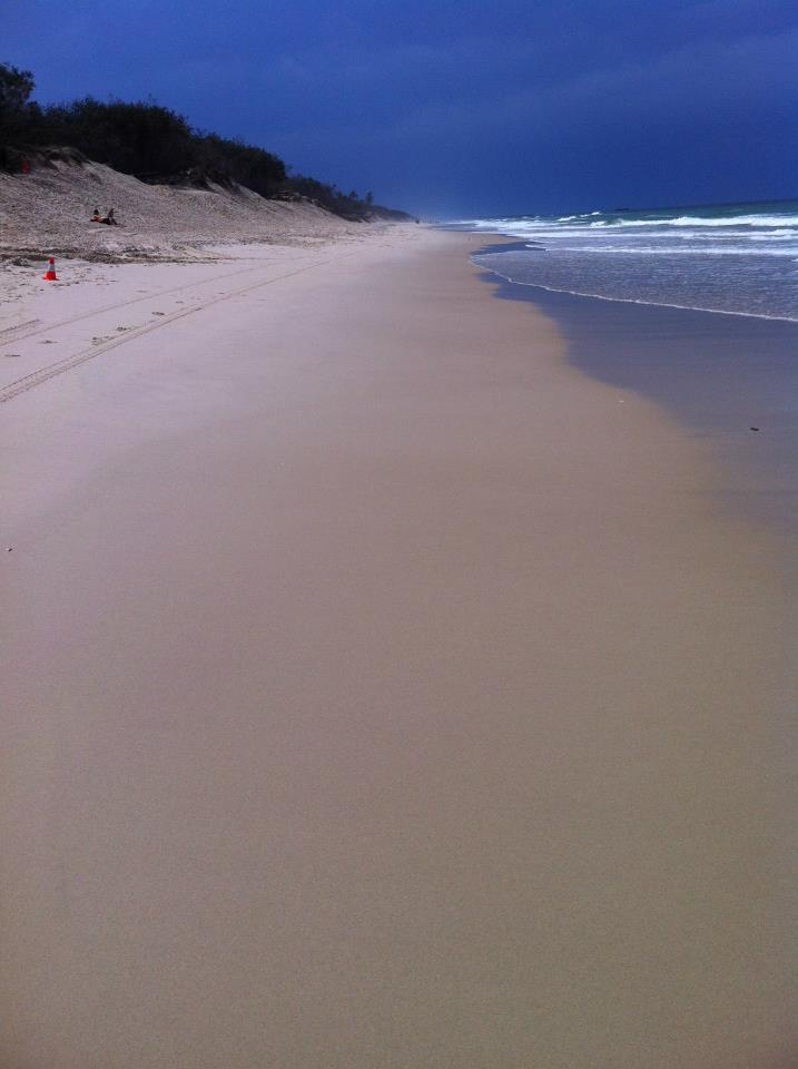 Beach on the Gold Coast