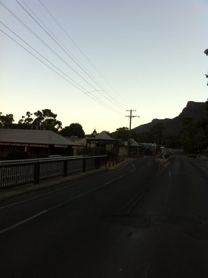 Halls Gap in the Grampians