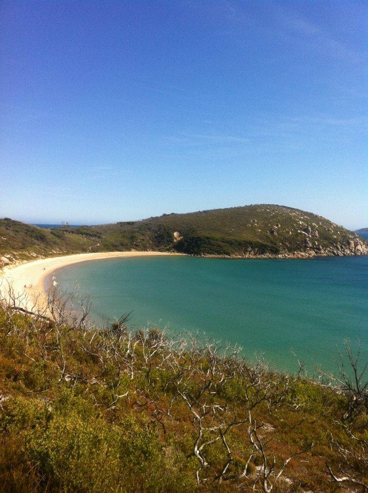 Squeaky beach in Wilson's Promontory