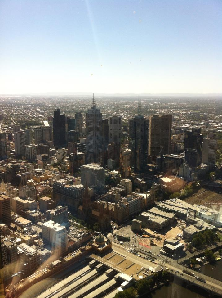 View from Eureka Skydeck