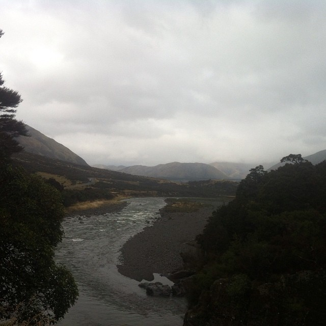 Backpacking in the South Island