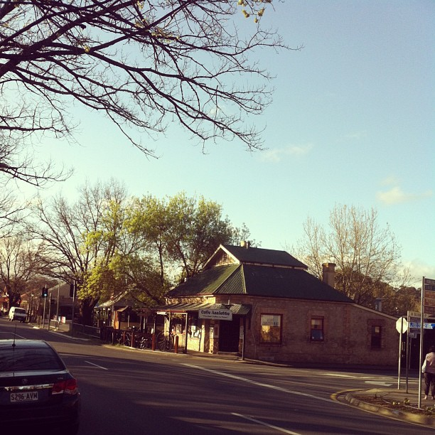 backpacking in Hahndorf