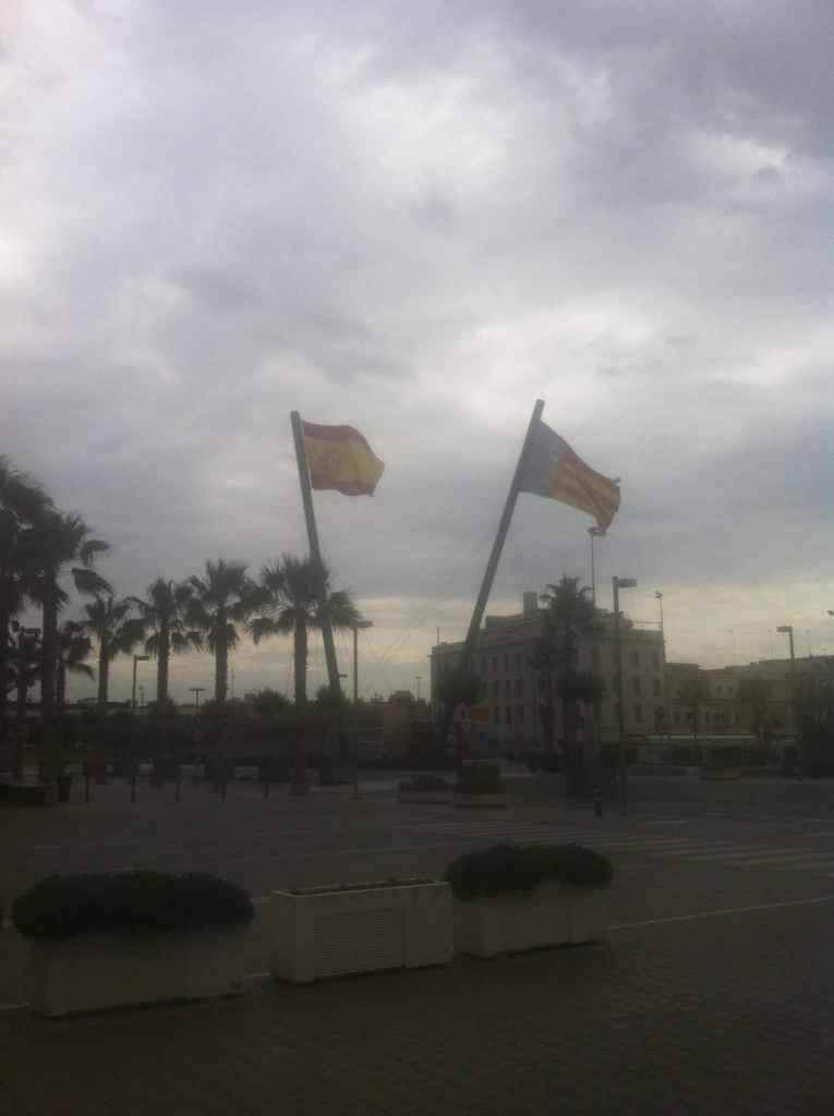 Flags in Valencia
