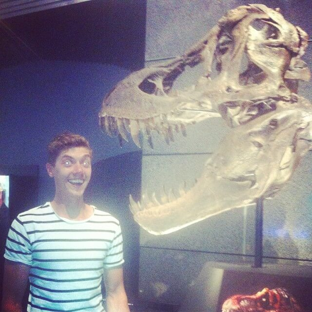 Me and Stan the T-Rex