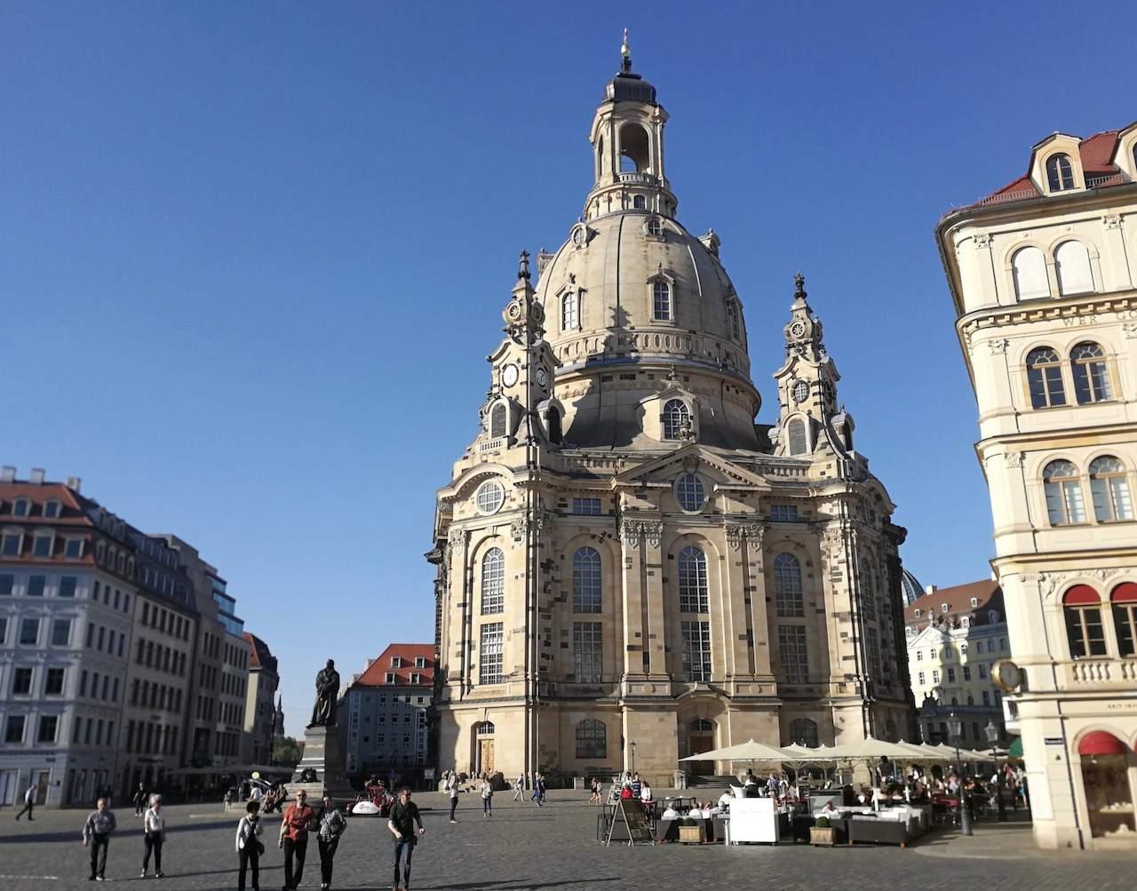 Dresden Frauenkirche  48 hours in Dresden, Germany Dresden Frauenkirche