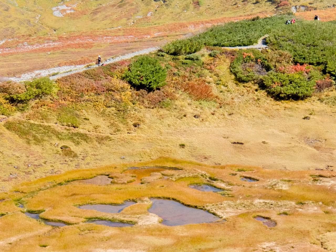 Hiking from Tateyama - Chinoike  Hiking from Tateyama across the Northern Japan Alps Hiking from Tateyama Chinoike