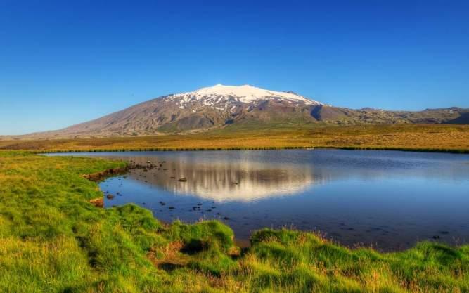 Snæfellsjökull volcano, Iceland