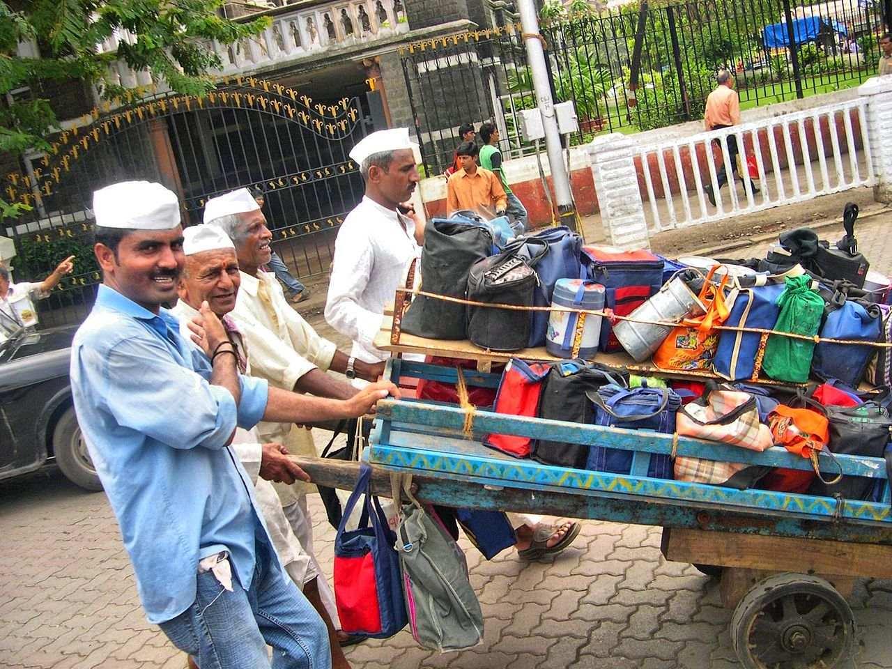 Dabbawalas, Mumbai  The Magical Mumbai (Bombay) – what is there to see Mumbai Dabbawala