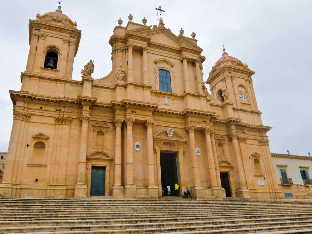 Noto Cathedral, Sicily, Italy  Street Travel to the Deep South of Sicily Sicily Noto Cathedral Full