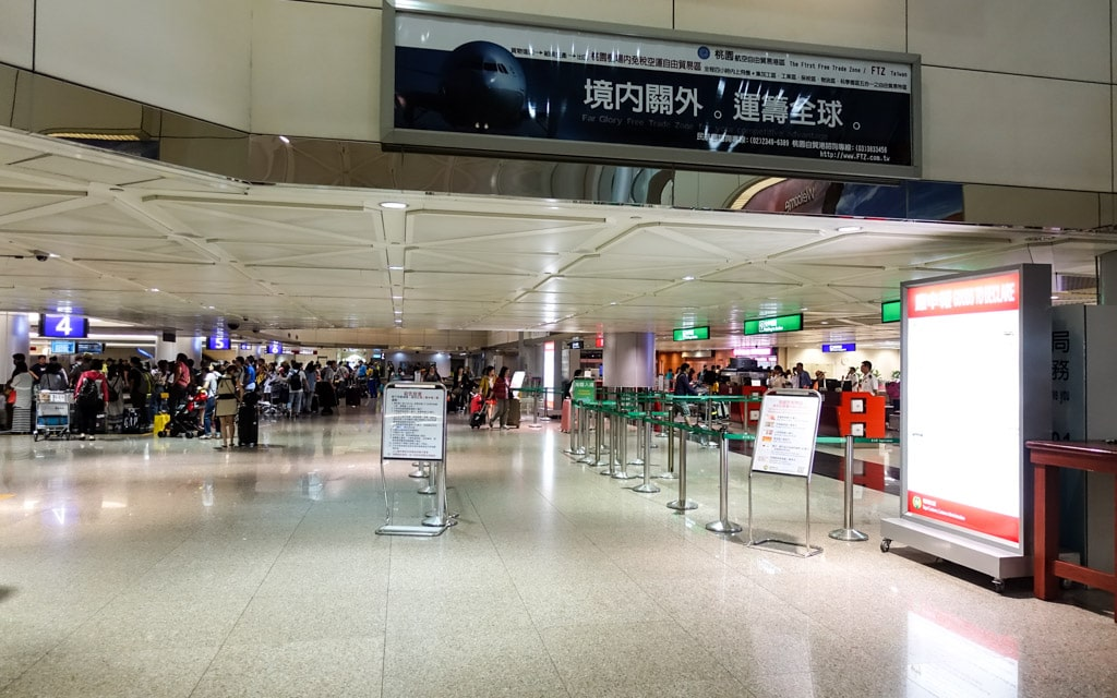How To Get From Taiwan Taoyuan International Airport To