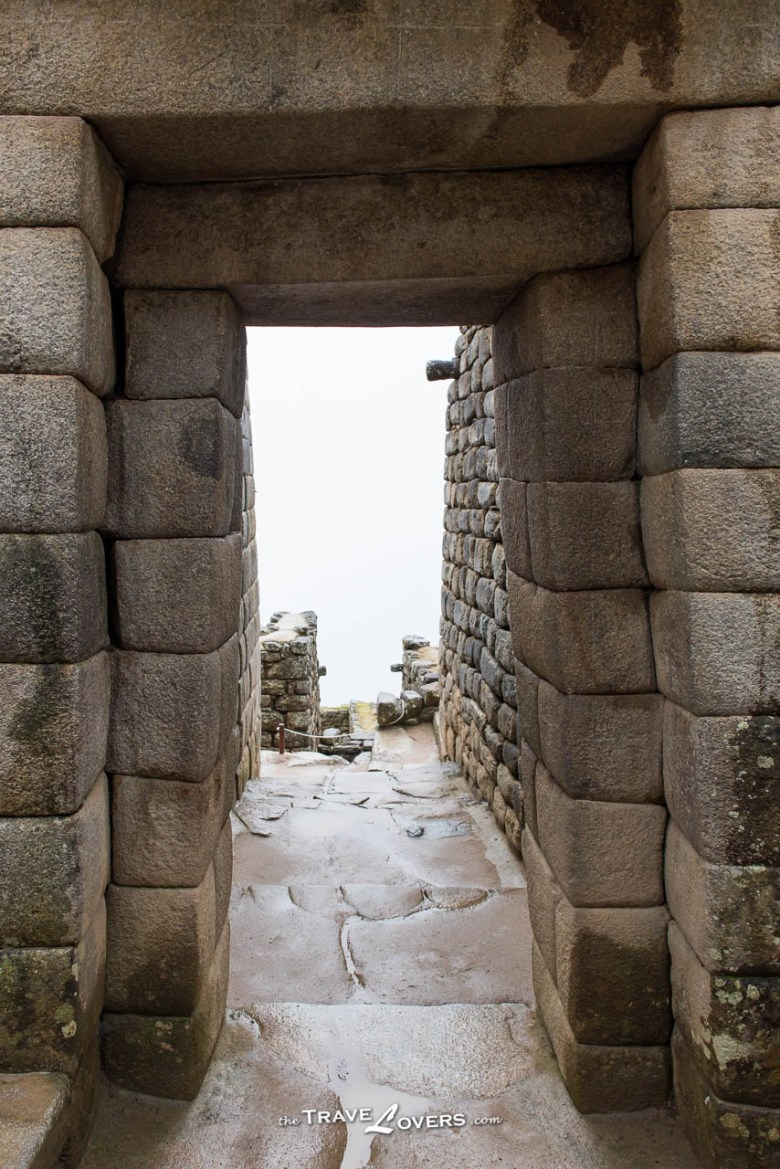Machu Picchu Sun Temple Door