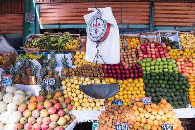 Rio Seco Central Market的生果檔,就像香港的果欄一樣,便宜而且新鮮。