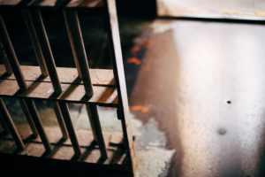 jail cell door from inside solitary, alcatraz
