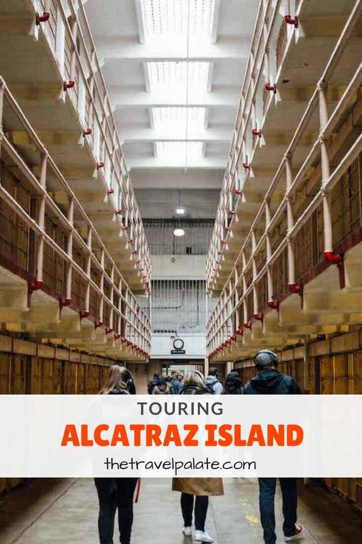 Must do tour in San Francisco-Alcatraz Island! Check out one of the most notorious prisons in the US. #sanfrancisco #alcatraz #california #travel #thetravelpalate