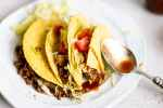 ground beef tacos by the travelpalate
