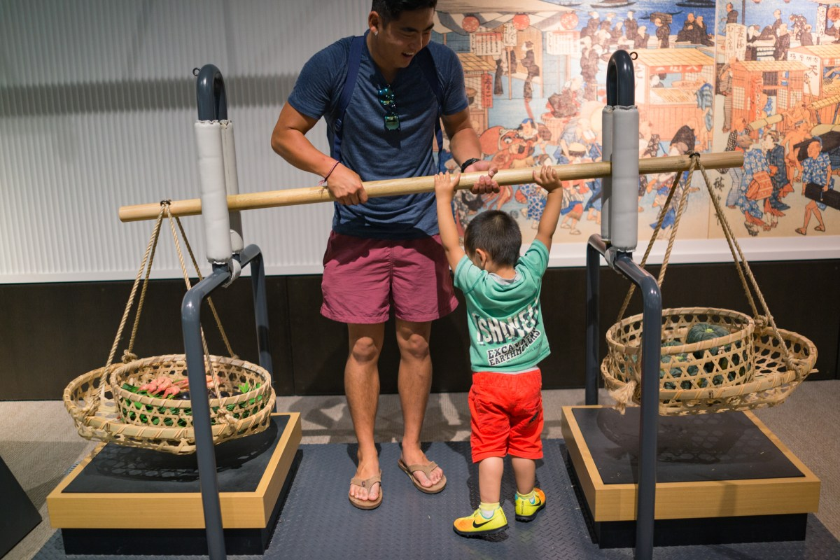 Interactive Carrying Pole