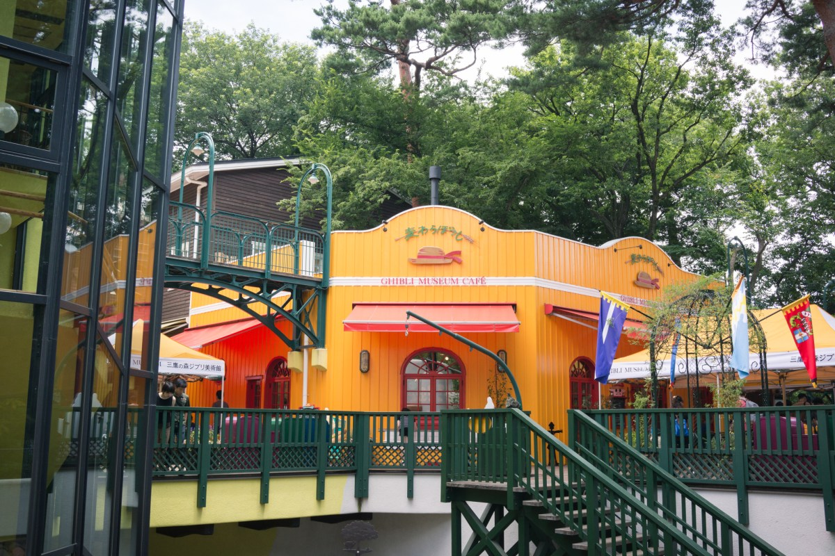 Straw Hat Cafe at Ghibli Museum