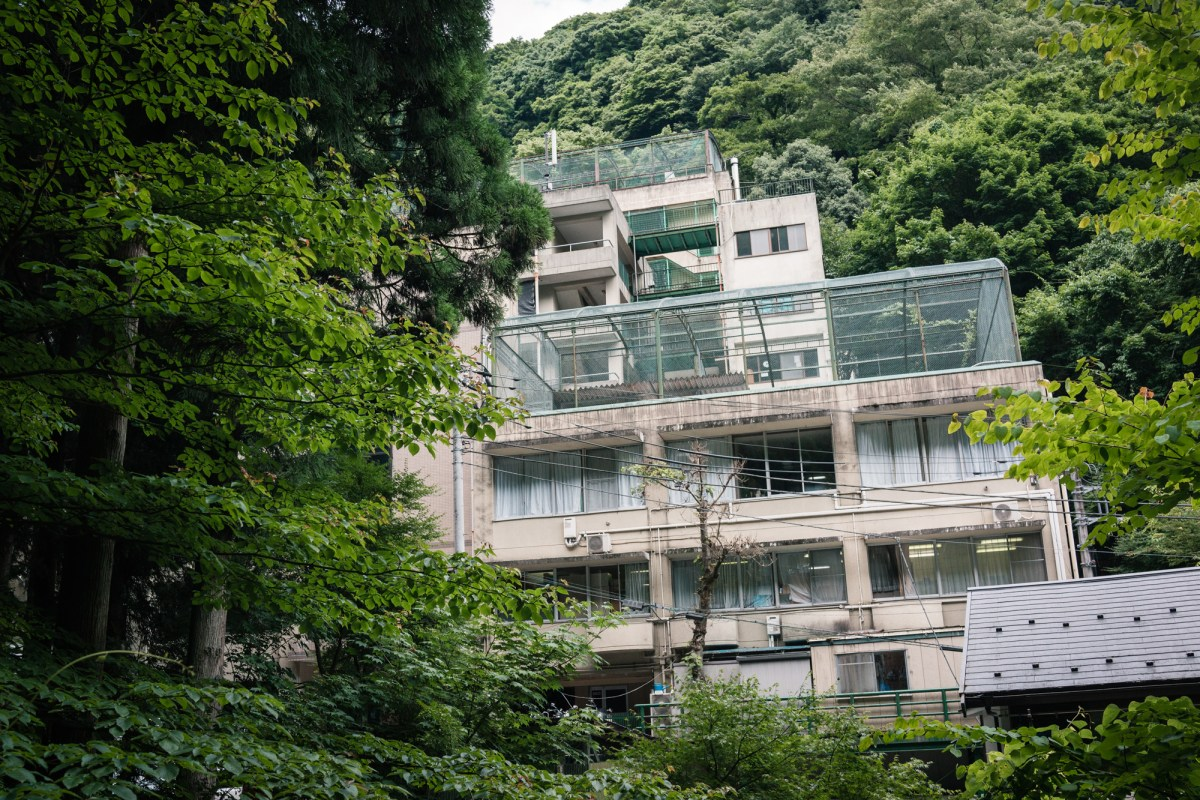 Hidden Building at Mt. Takao