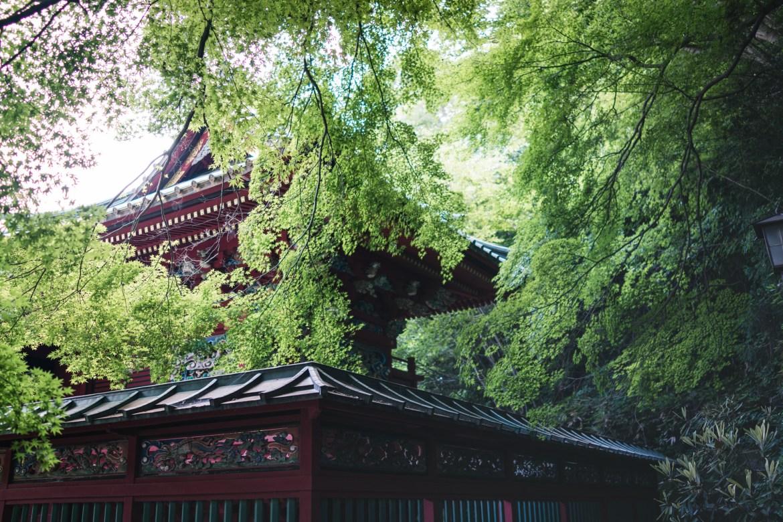 Yakuo-in Temple on Mt. Takao
