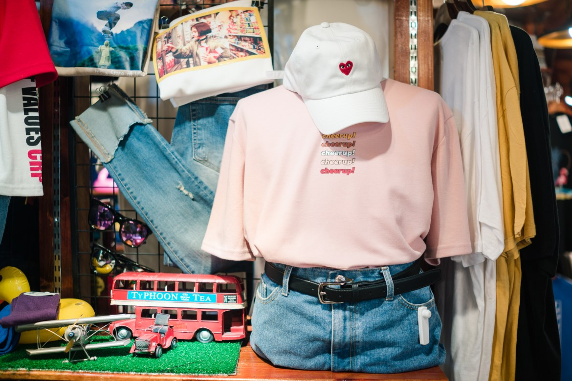 Clothing Store in Seoul South Korea