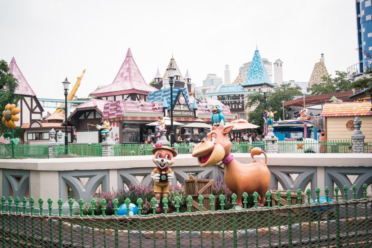 Lotte World Magic Island