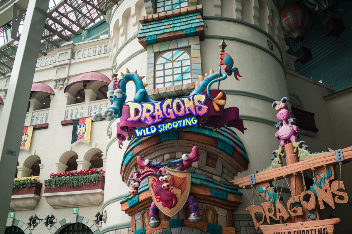 Lotte World's Dragons Wild Shooting