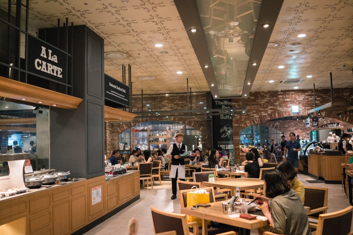 Vikings Warf Seafood Buffet at Lotte World Mall