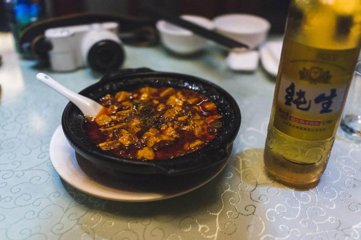 Chen Mapo Dofu in Chengdu