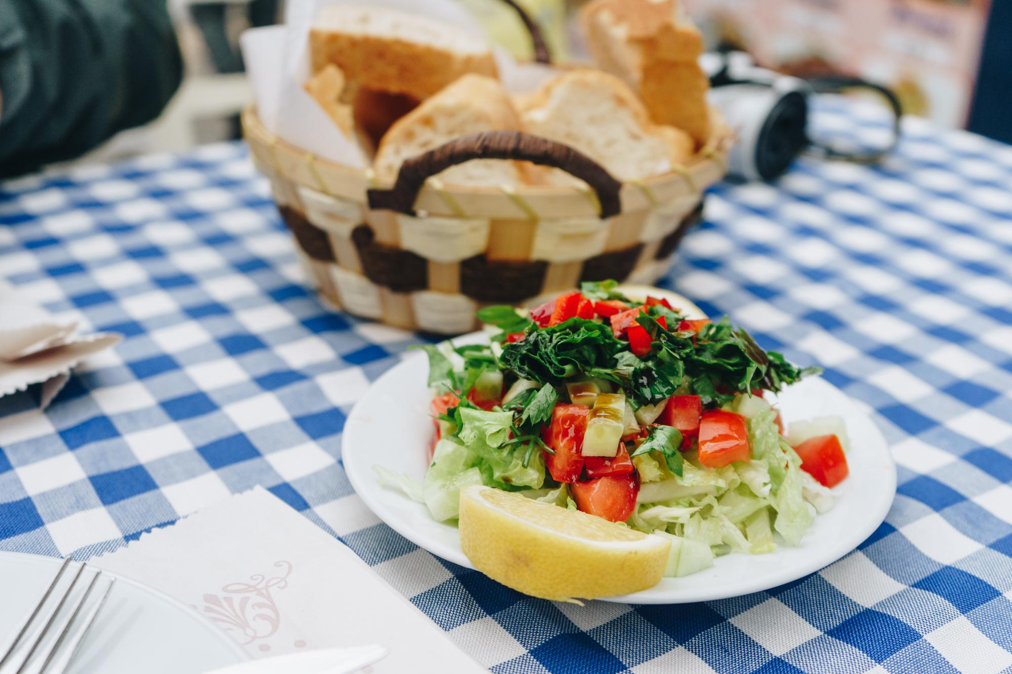 Turkish Food in Istanbul Turkey