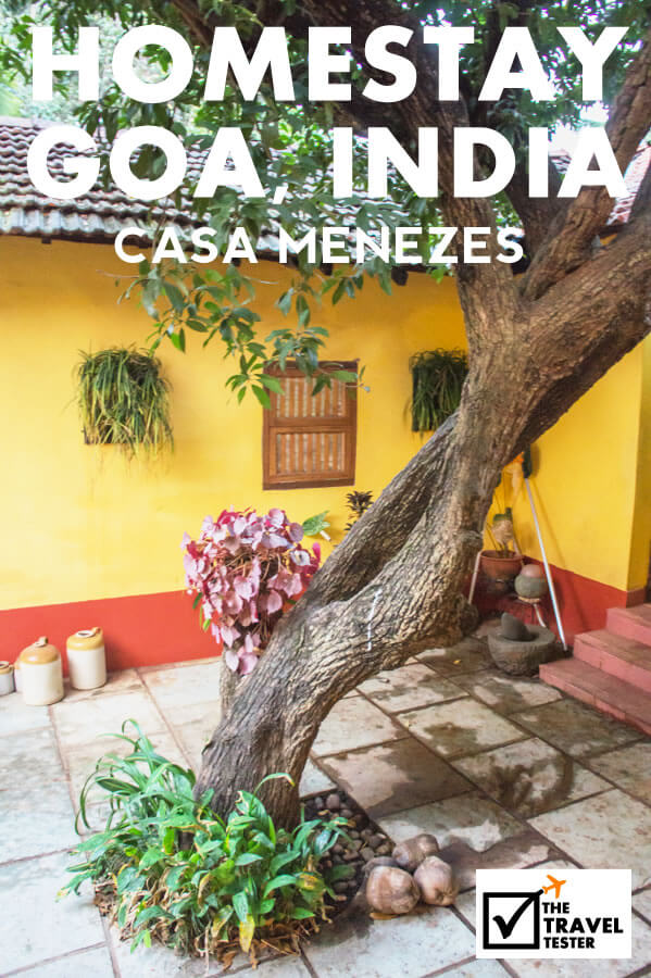 Heritage Homestay in Goa India Casa Menezes in Batim Village