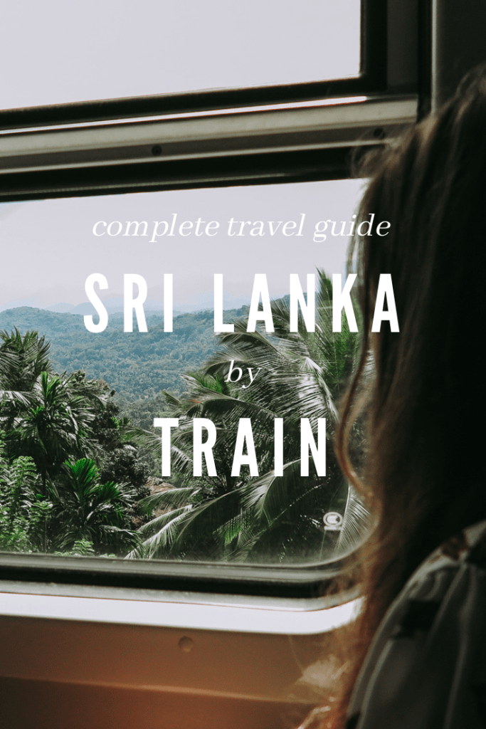 Sri Lanka by train pinterest