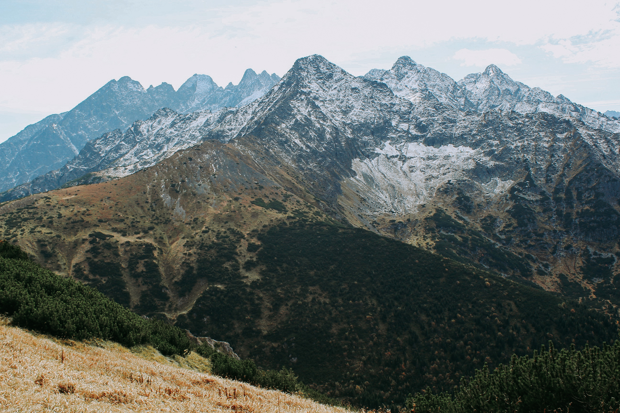 High Tatras Mountain Range