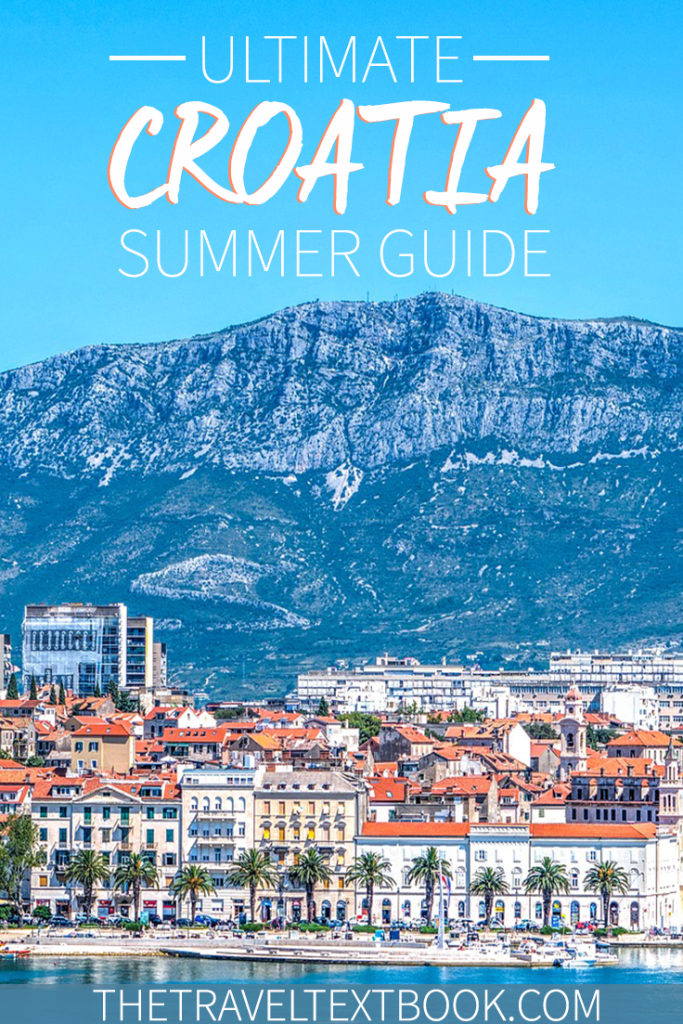 Croatia Summer Guide Pinterest