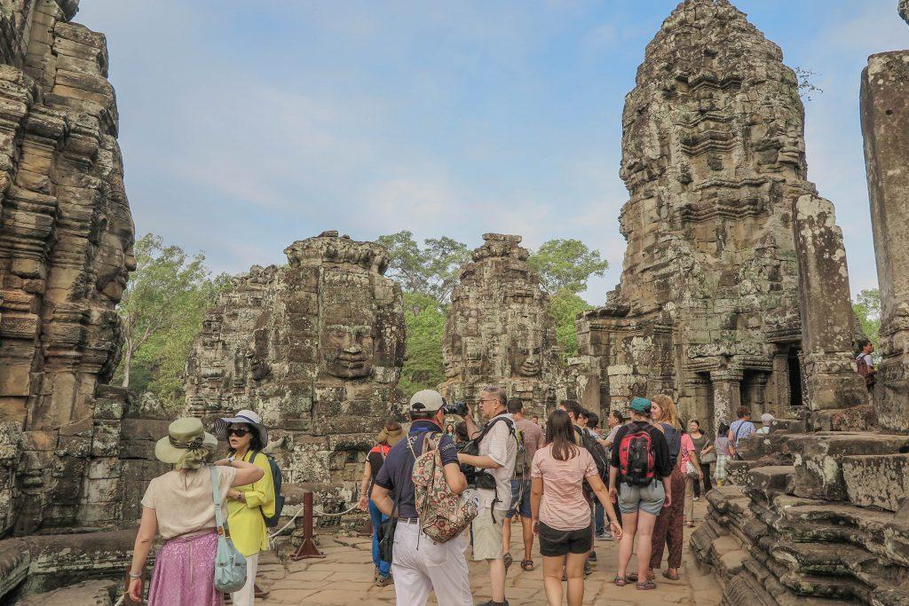 Over-tourism Angkor Wat
