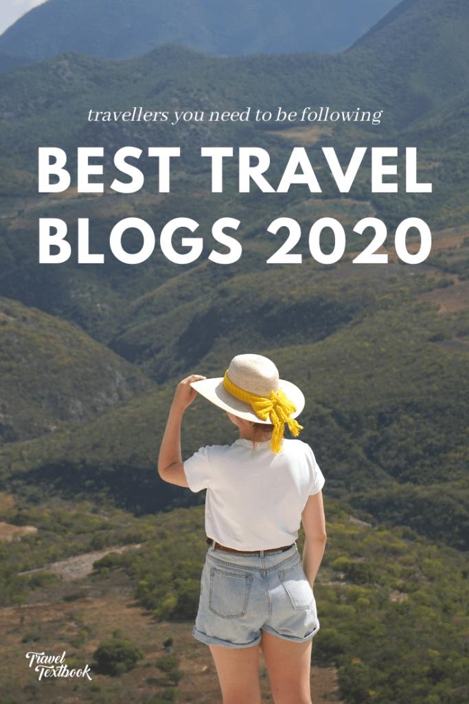 BEST TRAVEL BLOGS 2020