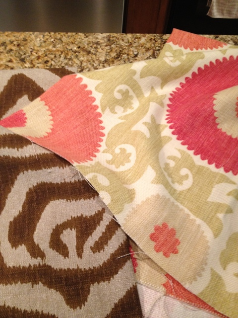 More New Pillow Fabric & Lunch at The Breakers