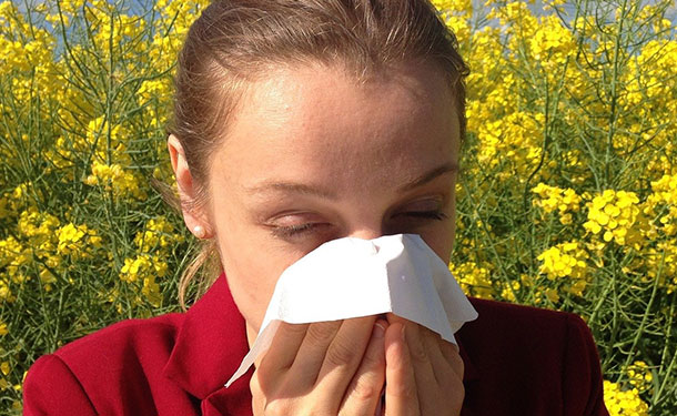 Tree pollen allergy season symptoms and relief