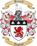 Russell Family Crest by The Tree Maker