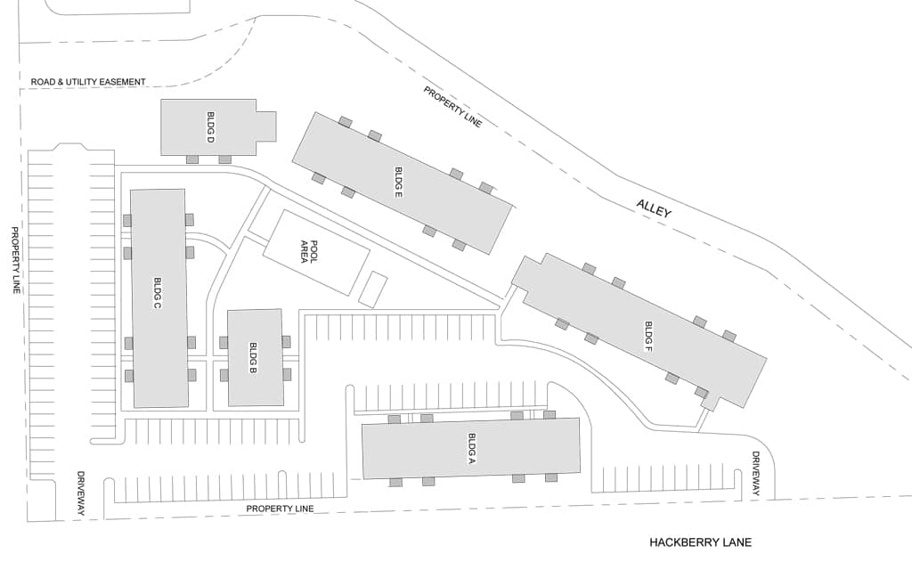 The Trees at Madison Apartments sitemap