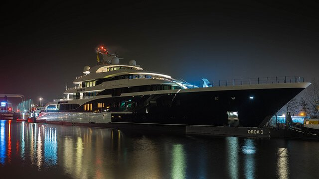 There's a good reason that the most wealthy film characters in history are rarely seen too far from their yacht!
