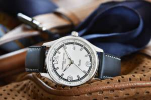 Just like the Austin Healey performances, the Frederique Constant FC-303 automatic movement encased in the Vintage rally is a monument to quality and accuracy.