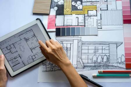 Architectural Designers are responsible for both interior and exterior designing of a building or a structure